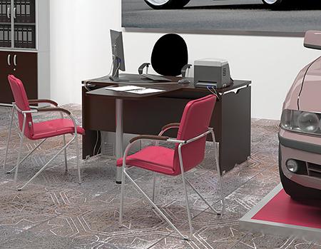 Офисная мебель для руководителей и менеджеров Новый Стиль оптом со склада в Новосибирске