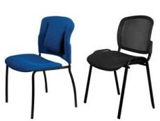 Стулья и кресла для посетителей Бюрократ оптом со склада в Новосибирске
