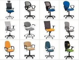 Кресла для персонала Новый стиль оптом со склада в Новосибирске